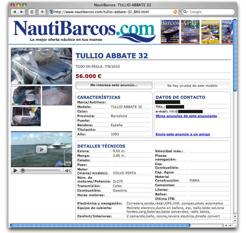 NautiBarcos.com La web para comprar y vender Barcos