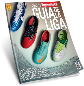 Gua de la Liga 2012/13 revista Futbolista