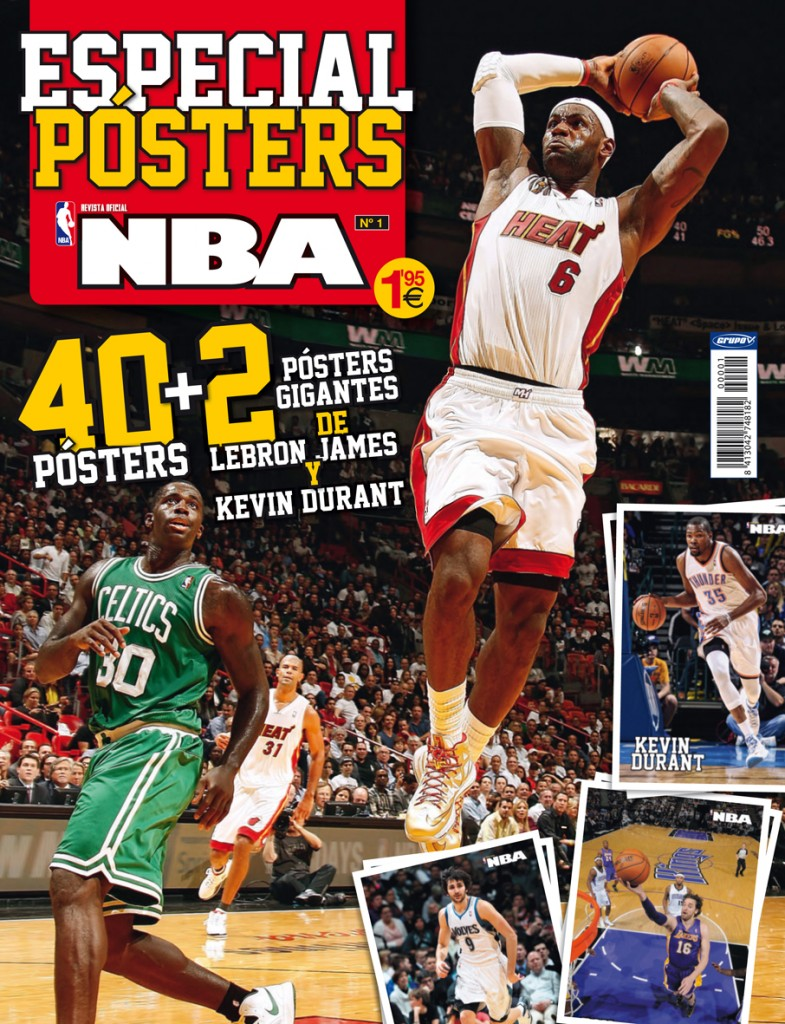Posters NBA revista oficial
