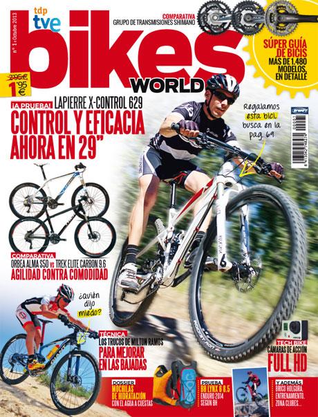Portada del nº 1 de Bikes World